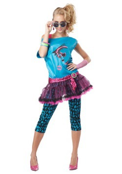 Totally Rad Valley Girl Costume