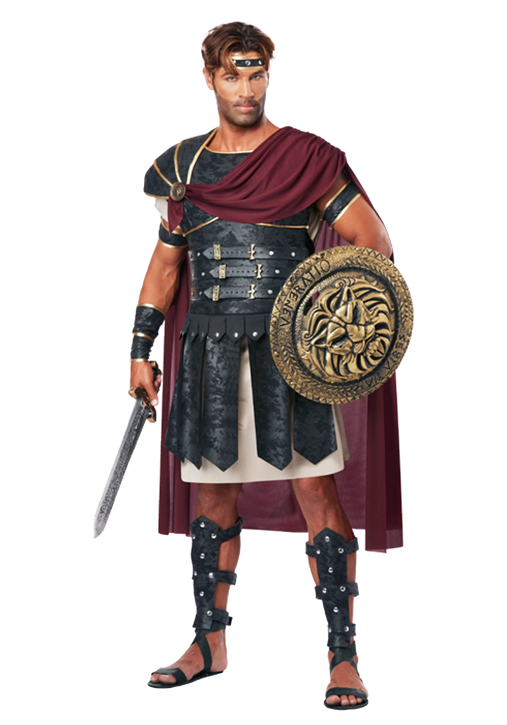 Roman Gladiator Menu0027s Costume  sc 1 st  Fun AU & Roman Gladiator Costume for Men
