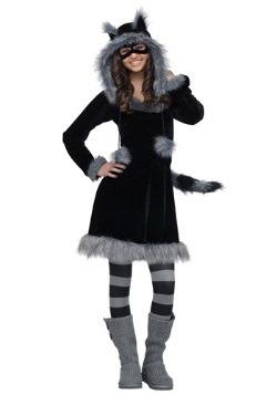Sweet Raccoon Costume For Teens