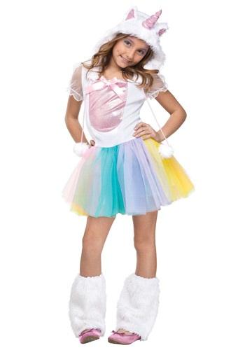 Girls Unicorn Costume