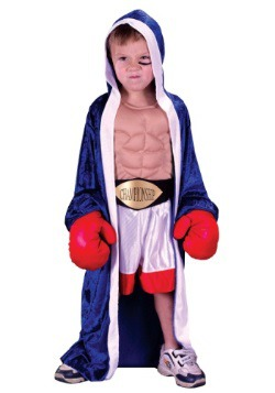 Lil' Champ Boxer Costume For Child