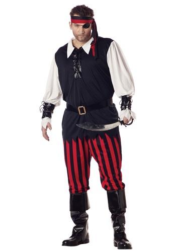 Cutthroat Pirate Plus Size Costume