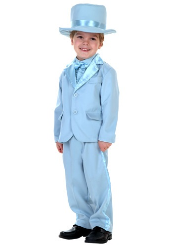 Light Blue Toddler Tuxedo