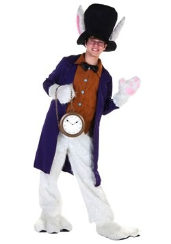 Teens White Rabbit Costume