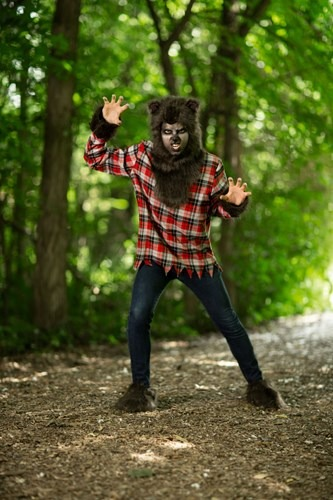 Fierce Werewolf Plus Size Men's Costume