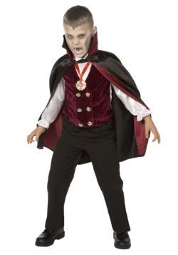 Deluxe Vampire Boys Costume