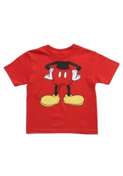 Toddler Mickey Mouse Costume T Shirt
