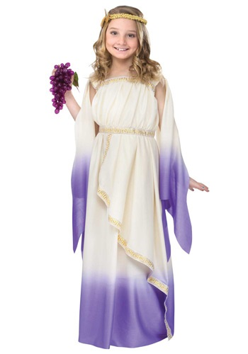 Purple Goddess Girls Costume