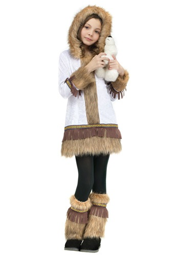 Girl's Inuit Costume