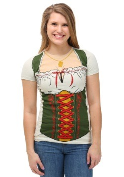 Womens Oktoberfest Fraulein T-Shirt