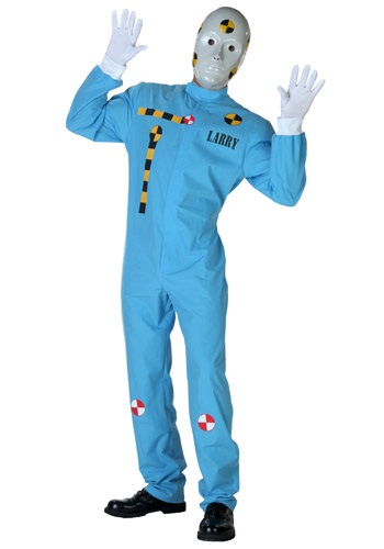 Men's Crash Test Dummy Costume
