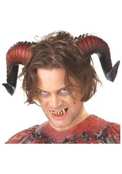 Demonic Devil Horns and Teeth