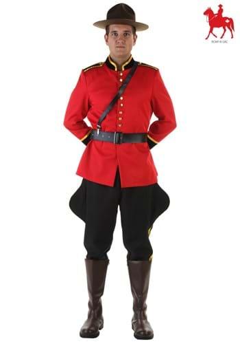 Canadian Mountie Mens Costume