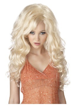 Blonde Bombshell Wig For Adults