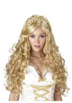 Women's Blonde Goldilocks Goddess Wig