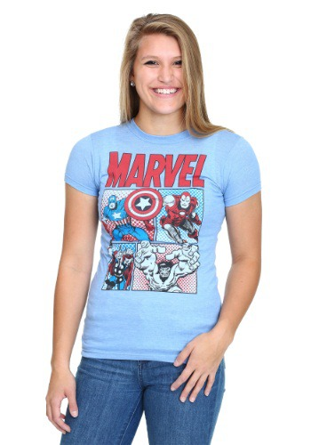 Women's Marvel Group T-Shirt