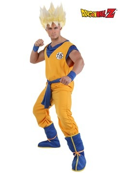 DBZ Adult Super Saiyan Goku Costume
