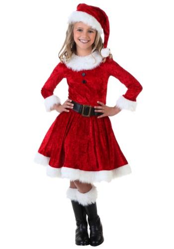 Girl Mrs. Claus Costume