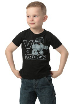 Toddler Star Wars V Is For Vader T-Shirt