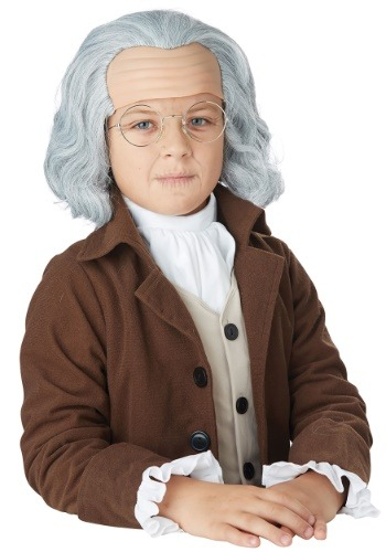 Child Benjamin Franklin Wig1