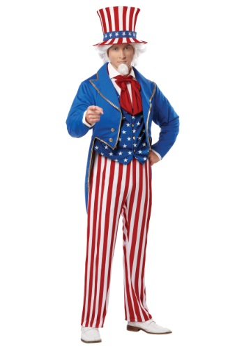 Deluxe Uncle Sam Costume