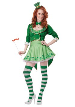 Lucky Charm Leprechaun Womens Costume