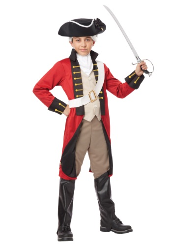 Boy's British Redcoat Costume