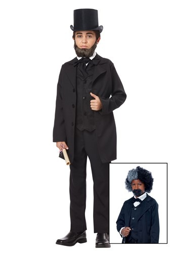 Abraham Lincoln/ Frederick Doulgass Costume For Boys