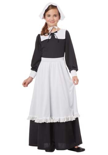 Girls Pilgrim Costume