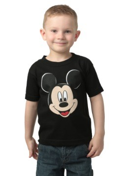 Boys Mickey Mouse Black T-Shirt