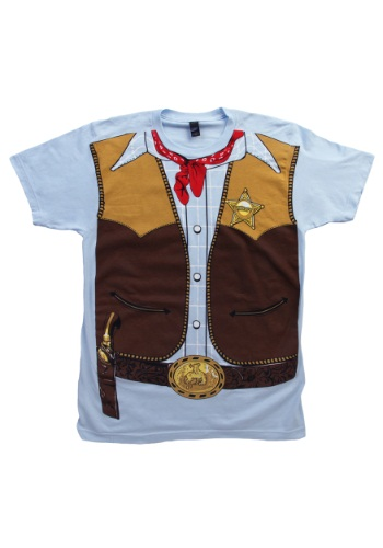 Men's Cowboy Costume T-Shirt