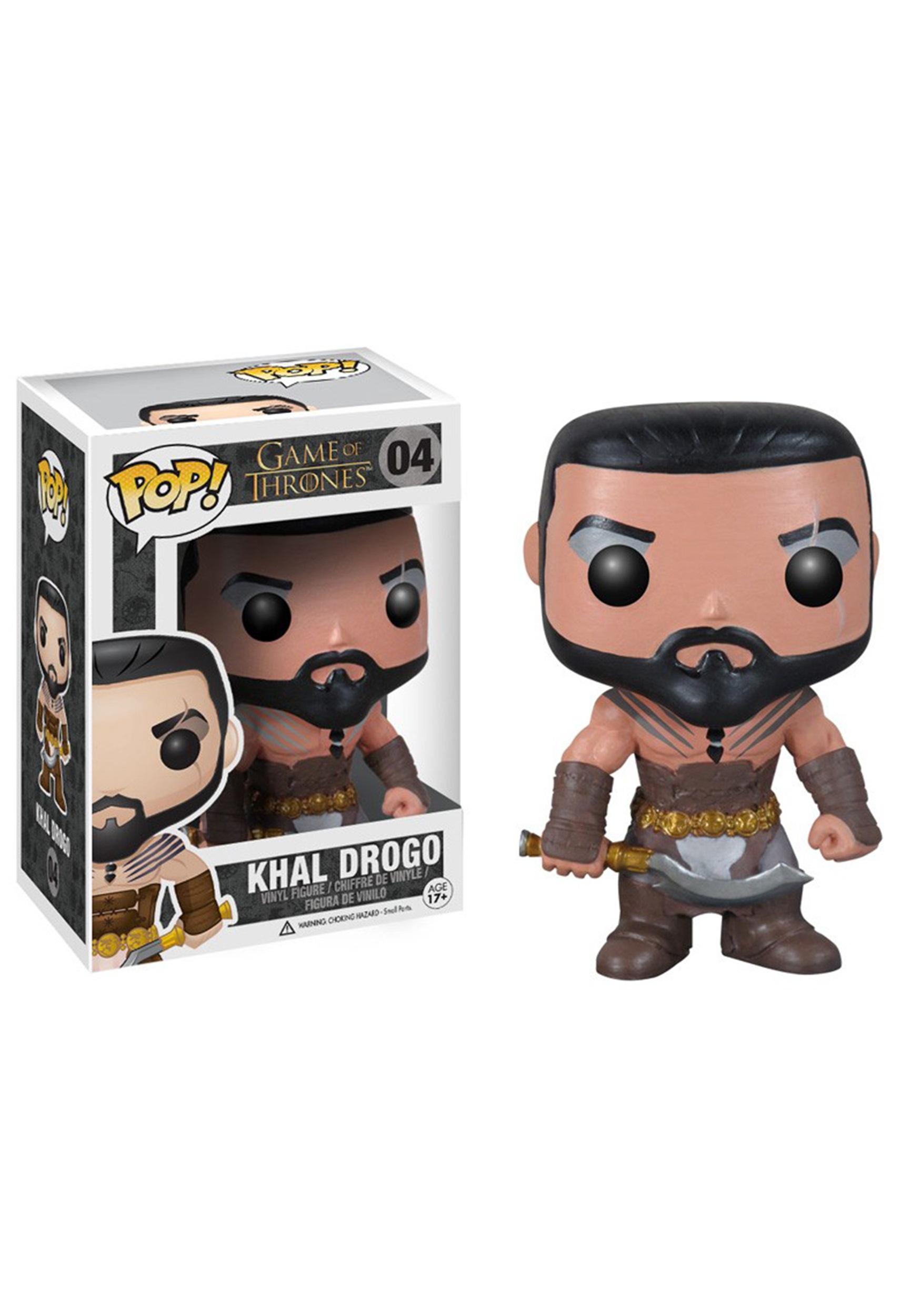 POP Game of Thrones Khal Drogo Vinyl Figure