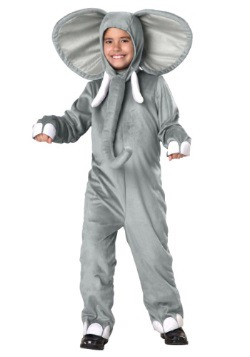 Elephant Kids Costume