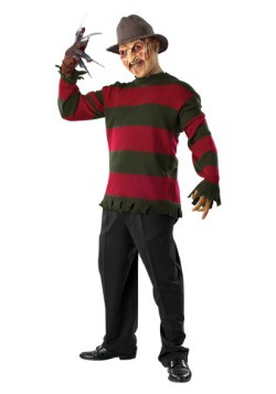 Adult Deluxe Freddy Sweater w/ Mask