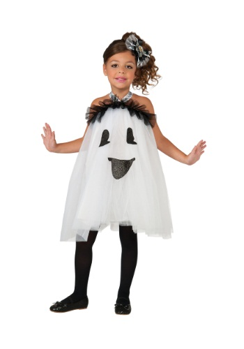 Kids Ghost Tutu Dress