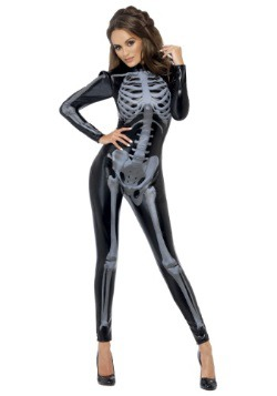 X-Ray Skeleton Women's Jumpsuit 2
