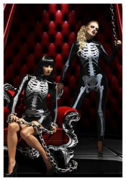 X-Ray Skeleton Women's Jumpsuit 5