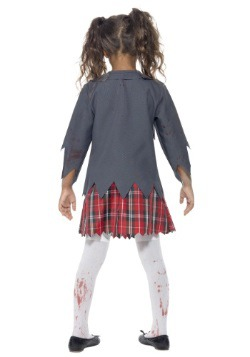 Girls Zombie School Girl Costume2