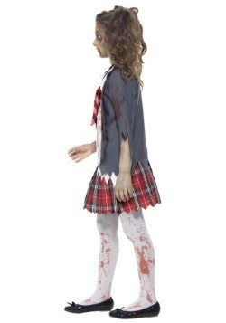 Girls Zombie School Girl Costume3
