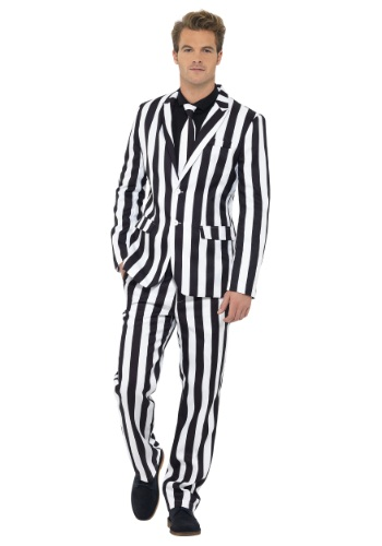 Humbug Striped Mens Suit