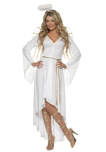 High-Low Angel Costume For Women