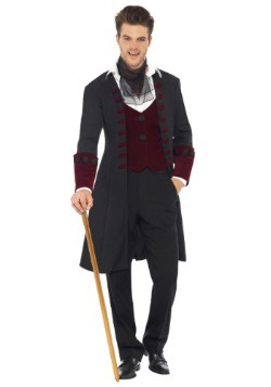 Gothic Vampire Costume For Men