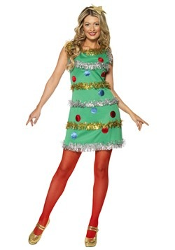 Women's Christmas Tree Costume Dress