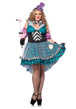 Manic Mad Hatter Plus Size Costume