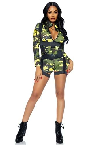 Womens Goin' Commando Army Costume