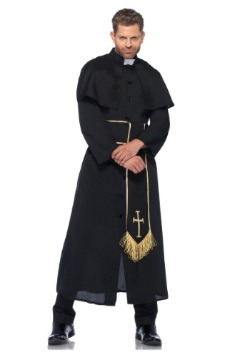 Priest Adult Men's Costume