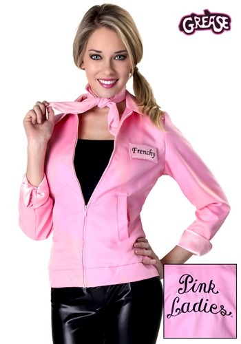 Authentic Grease Plus Size Pink Ladies Jacket