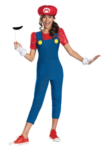 Mario Tween Girls Costume