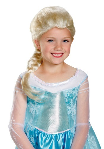 Child Frozen Elsa Wig