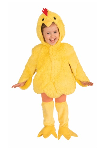 Plush Chicken Costume for Kids